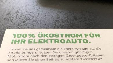 Photo of Mobilstrom – Greenpeace Energy bietet neue Ökostrom-Tarife